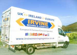 One of our Luton vans used for UK and Ireland Removals